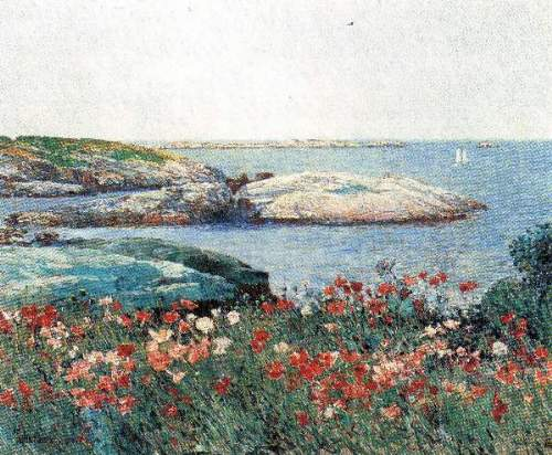 Childe Hassam - Poppies, Isles of Shoals [1]